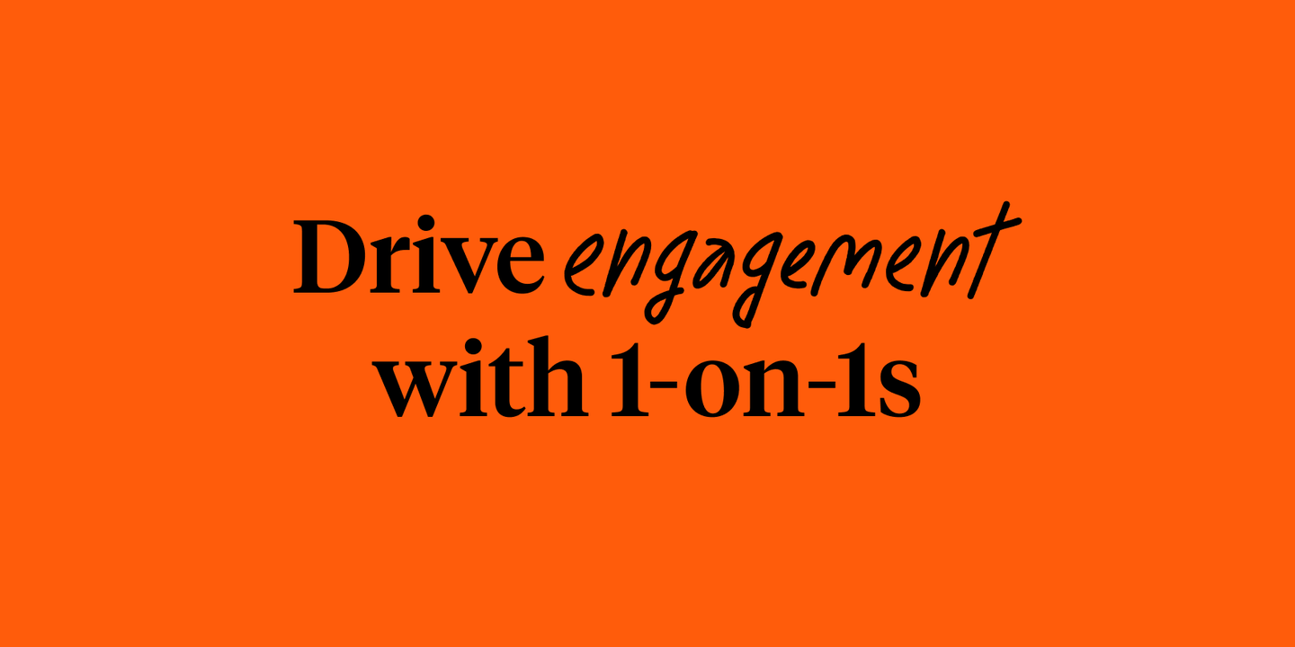 Blog - Driving engagement with Culture Amp's 1-on-1 meeting tool