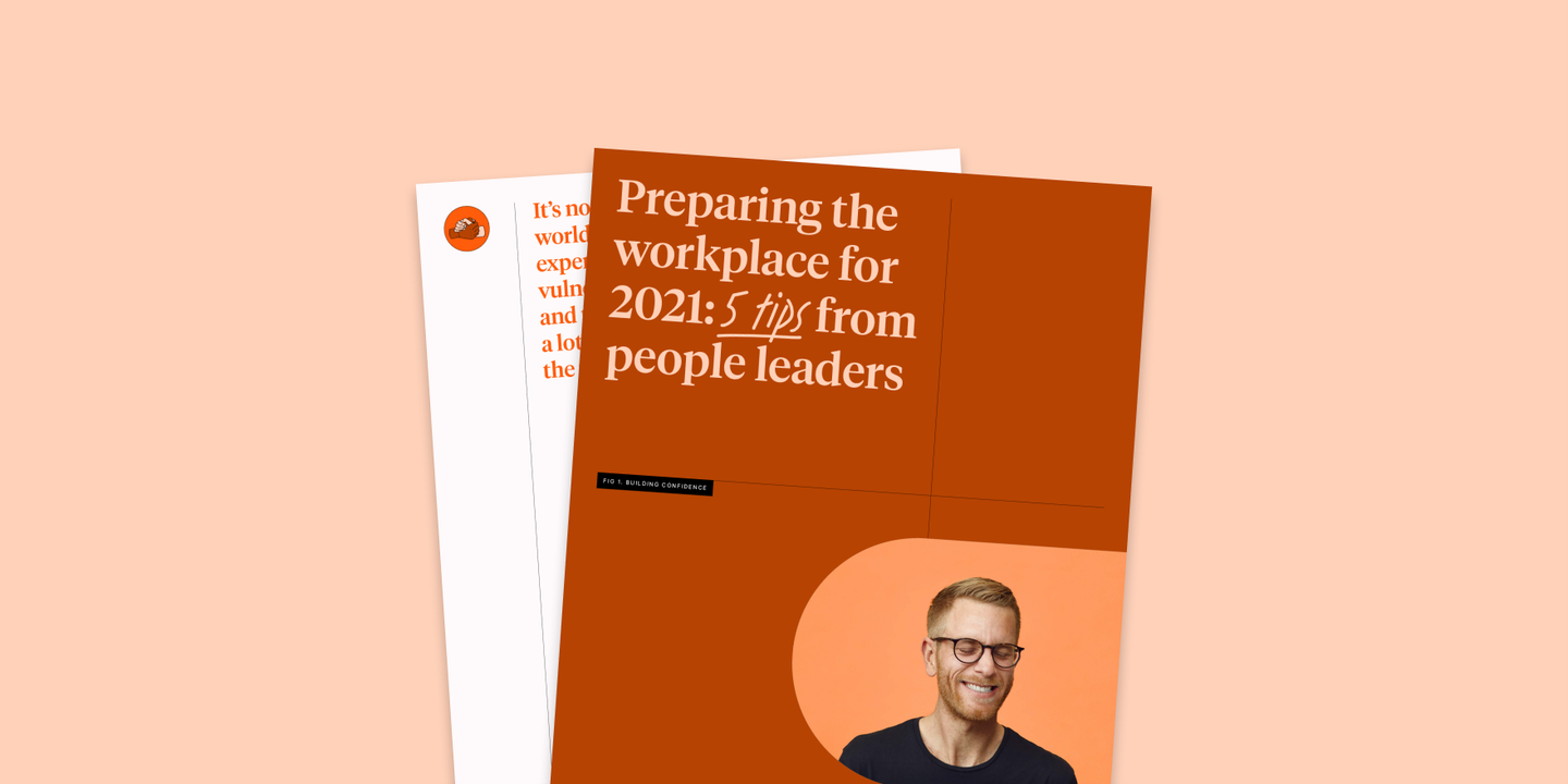 Blog - Preparing the workplace for 2021: Tips from people leaders
