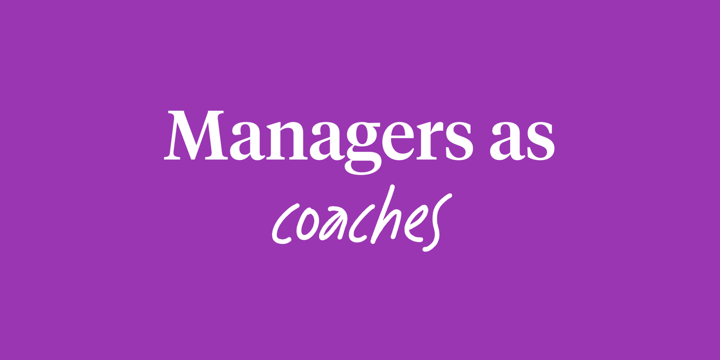 Blog - Coaching vs managing: 5 key tactics for managers
