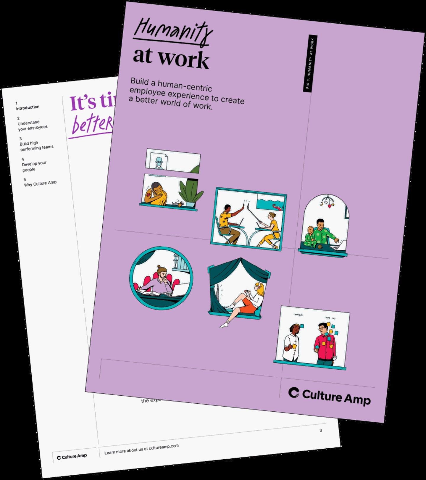 Humanity at work – ebook