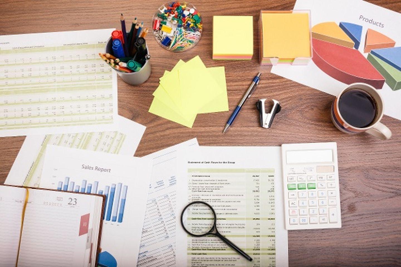 Employeesurveytypes stock photo